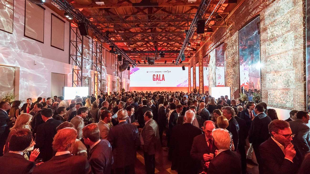 Público asistente a la Gala Carrefour Property / Carmila 2017