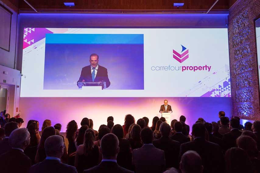 Orador en la Gala Carrefour Property Carmila y 2017