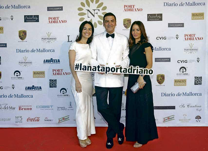Photocall de La Nata y La Flor en Port Adriano