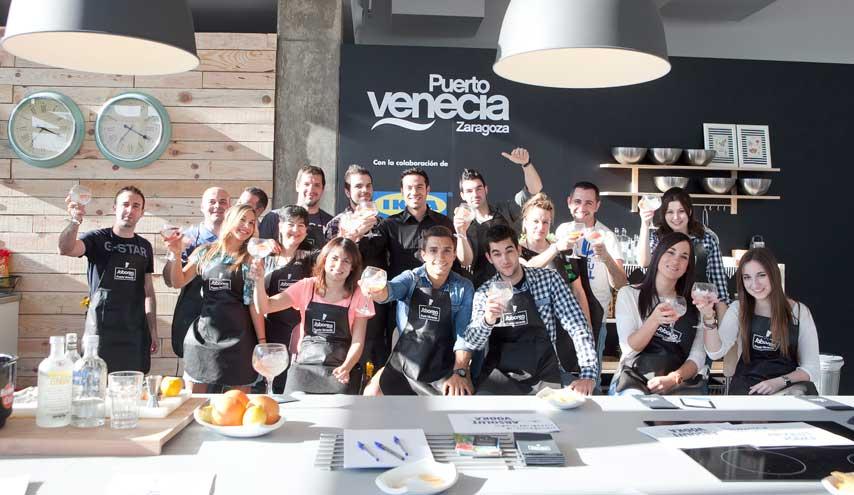 participantes en el evento Saborea Puerto Venecia