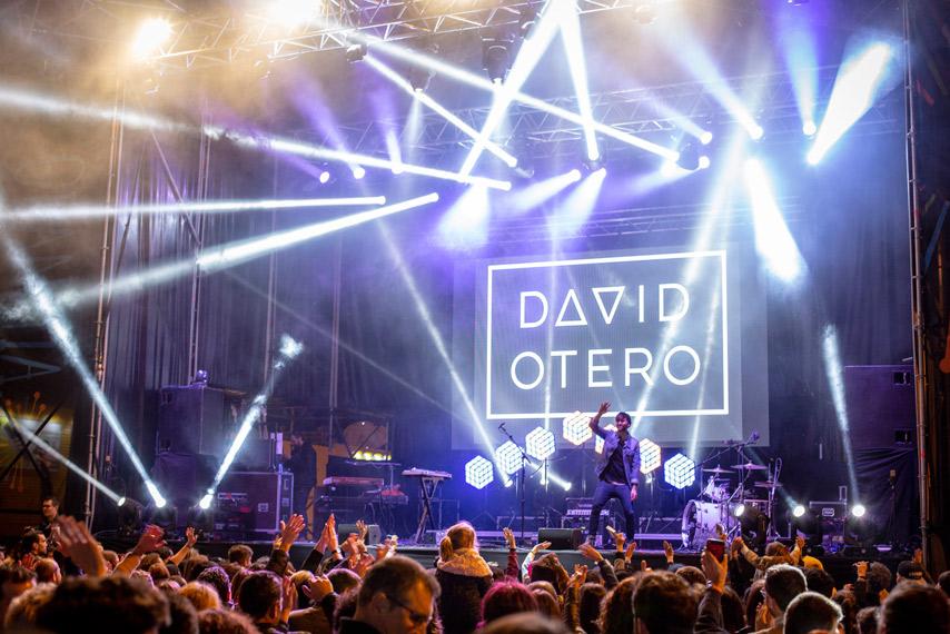 Concierto de David Otero
