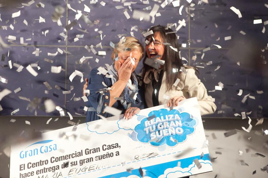 Ganador de la camapaña sueños en Gran Casa Zaragoza