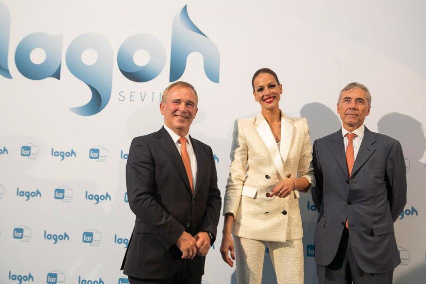 Inauguración Lagoh - Eva González