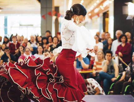 Feria de abril en Sambil