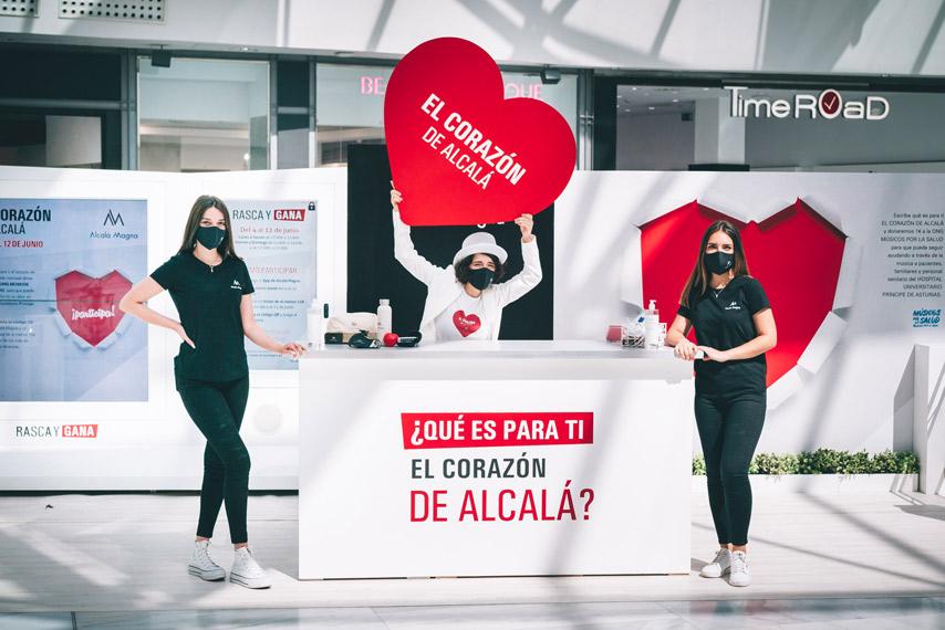 Stand del evento El corazón de Alcalá en el Centro Comercial Alcalá Magna