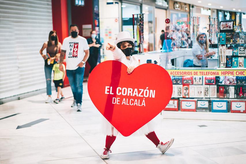 Animadora del evento El corazón de Alcalá